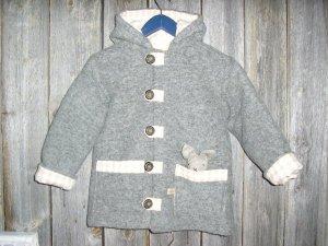 Pellava takki harmaa